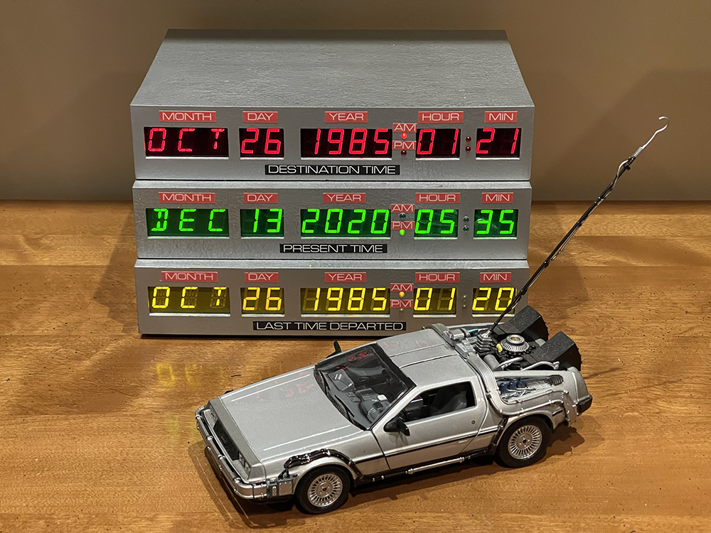 Time Circuits Clock