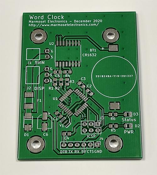 Word Clock PCB